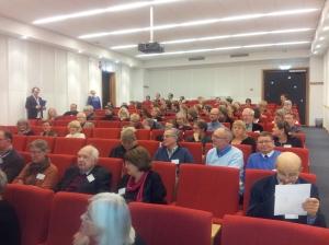 Arkivarier och forskare från hela Norden i hörsalen